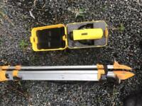 Site scope level laser and tripod!! Tools, power tools, building,