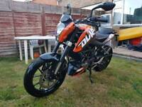 2012 KTM duke 125 - New MOT