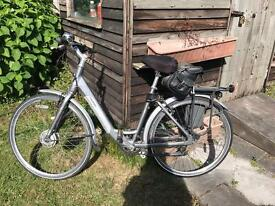 Giant twist electric bicycle