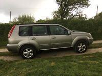 Nissan x Trail 4x4 2.5 petrol 2005