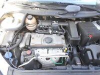 PEUGEOT 206 VERVE 1.4 ENGINE 55 REG