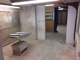 Workshop space to Rent. Ideal for a furniture polisher or craftsperson