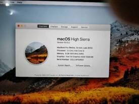 8Gb RAM Pro 2012 13 Retina i5 2.5Ghz 8Gb RAM 125 ssd