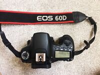 Canon EOS 60D 18.0 MP Digital SLR (body only)