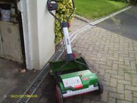 QUALITY LAWNMOWER - BRILL ROZORCUT LI-LION 38 WITH GRASS CATHCHER AND 24V BATTERY