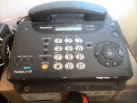 panasonic panafax uf-s1 telephon