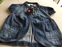 Ladies size 14 Denim jacket. New. Never been worn.