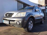 KIA Sorento 2.5 CRDi XE 5dr PARTS & LABOUR WARRANTY