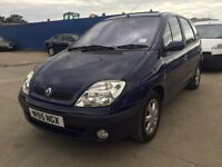 Renault Megane Scenic 1.6 Monaco | Manual | Petrol | 1 Former Keeper | Service History | 1 Year MOT