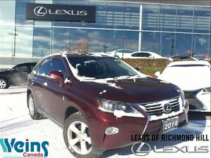 2014 Lexus RX 350 Premium Package* Back Up Camera* One Owner*