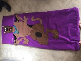 Scooby do sleeping bag