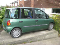 Fiat Multipla WAV (Brotherwood conversion)