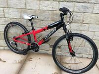 Specialized hot rock child's mountain bike