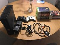 Xbox 360 slim+15 games!! 128gb 2 controllers