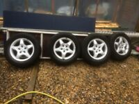 I will sell a cheap Mercedes Vito wheelset, Volkswagen T5