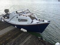 Fishing boat 16'+trailer