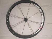 Carbon Tubular aero wheels bontraeger carbon aero race light