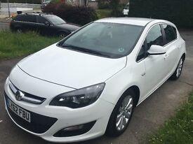 Vauxhall Astra 1.7 CDTi 2013 68,000 miles