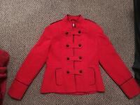 Beautiful Women's vintage military coat, size 14