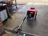 BRODEX WINDOW CLEANING EcoTrolley with Digital Controls