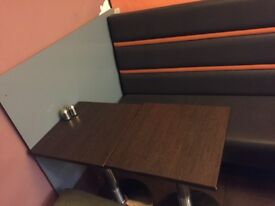 Cafe and restaurant table