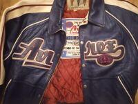 Avirex Leather Baseball Jacket