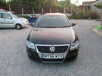 2007 NEW SHAPE VOLKSWAGEN PASSAT 2.0 SE TDI 140 BLACK DIESEL may px van or tipper
