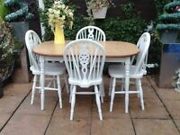 Dining / Kitchen Table & Chairs Shabby Chic
