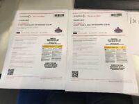 VIP Parklife Weekend Tickets x 2 £126 each