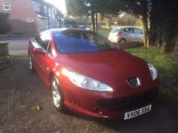 2006 PEUGEOT 407 Coupe 2.2S, 74,000 miles & 12 months MoT - PRICE REDUCED