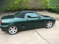 MG MGF 1.81 VVC - Full 12 months MOT - great condition for year