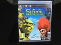 Shrek forever after PS3 game