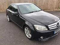 2009 MERCEDES C CLASS C200 CDI SPORT DIESEL AMG 6 SPEED FULL SERVICE LOW MILES MINT NOT E CLASS C220