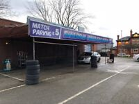 Car Wash Hand Valeting Business For Sale - Man City FC Car Park - Large Land - 3 MONTHS RENT FREE