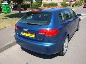 Audi A3 1.9 TDI 5 Door Sports back 2007