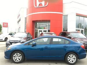 2012 Honda Civic LX - Accident Free! One Previous Owner!