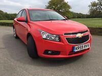 CHEVOROLET CRUZE 1.8 LT, AUTO 2010, SAT NAV, UBER, LOW MILEAGE 1 KEEPER 10 MONTH MOT FULL SERVICE