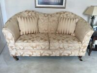 2x 2 seater sofa's