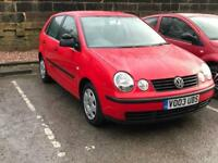 XMAS SALE!! *VW POLO *1.2 *5 DOOR *RED *MOT *IDEAL FIRST CAR *CHEAP INSURANCE *PART EX/DELIVERY
