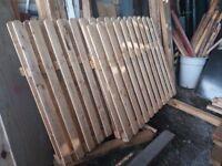 Fencing panels 4 x panels job lot just £50 o.n.o