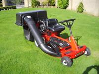"""Ride on Lawnmower , New 33"""" Snapper ride on"""