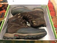 Karrimor Calgary Weathertite brown Hiking Boots