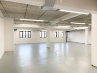 2000sqft Live/work style conversion with large open area, open plan kitchen, shower & WC E1W Wapping