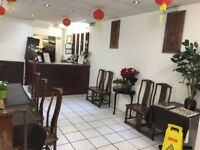 Takeaway with one studio flat lease 22 years very large shop attractive turnover quick sale