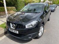 Nissan, QASHQAI+2, 7 Seater, Hatchback, 2011, Manual, 1461 (cc), 5 doors, Black