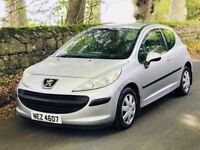 Nice 2008 Peugeot 207 1.4 S 3dr, only 88k & long mot, trade in considered, credit cards accepted