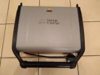Large George Foreman Electric Contact Grill, fat reducing