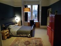 Marchmont, Large Fully Furnished Flat, High Standards. (2 of 4 rooms available)