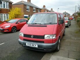 VW TRANSPORTER T4 PROJECT
