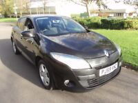 2010'renault megane 1.5 dci 5dr fsh £30 year tax fantastic condition